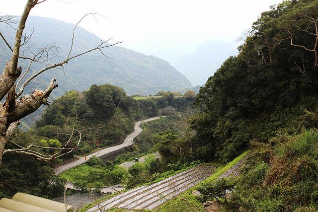 位於國家公園內的西寶聚落,以友善生產方式,社會-生態的生產地景於焉而生。攝影:廖靜蕙